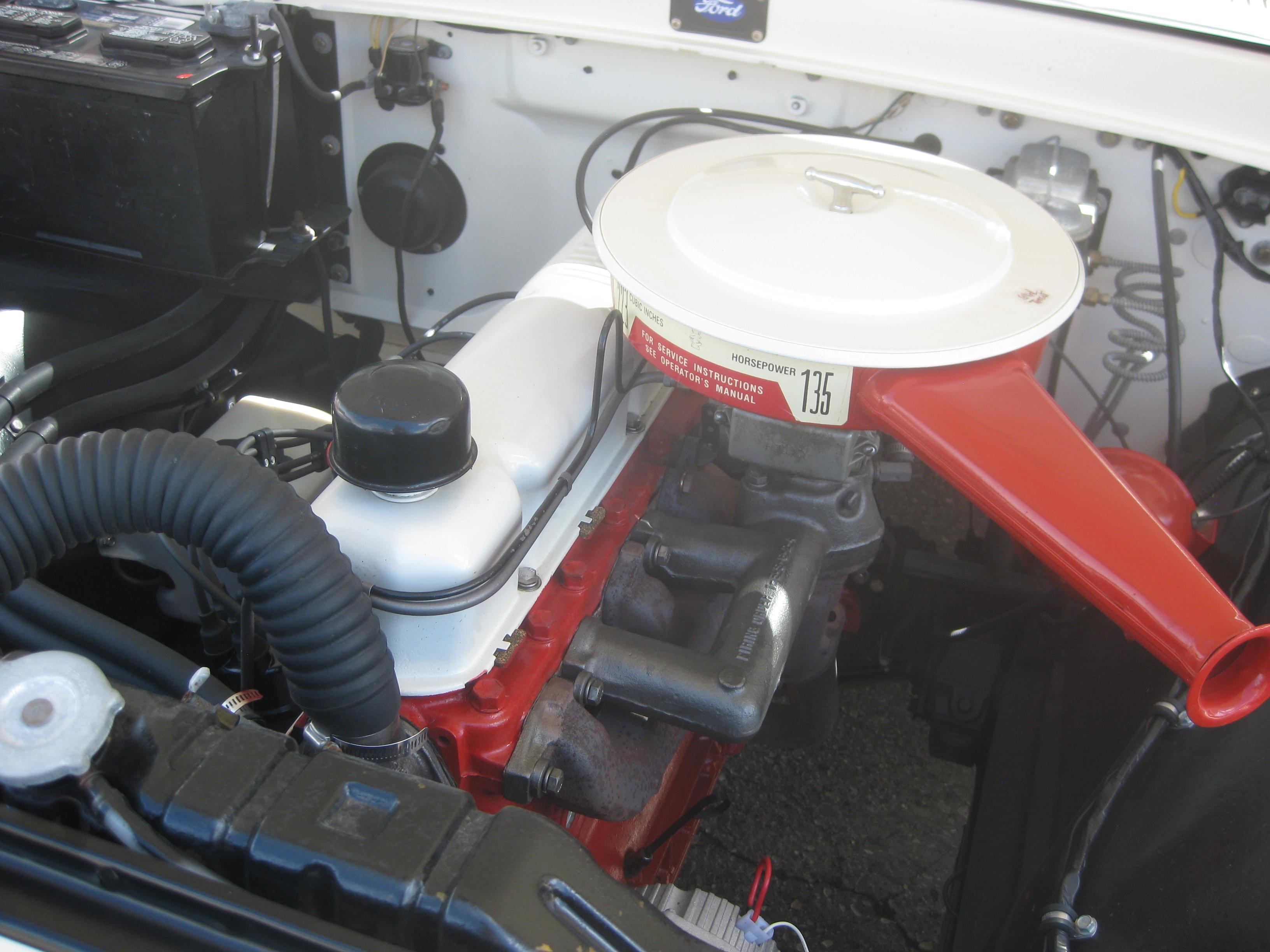 File1961 Ford F100 engine 14543982175jpg  Wikimedia Commons