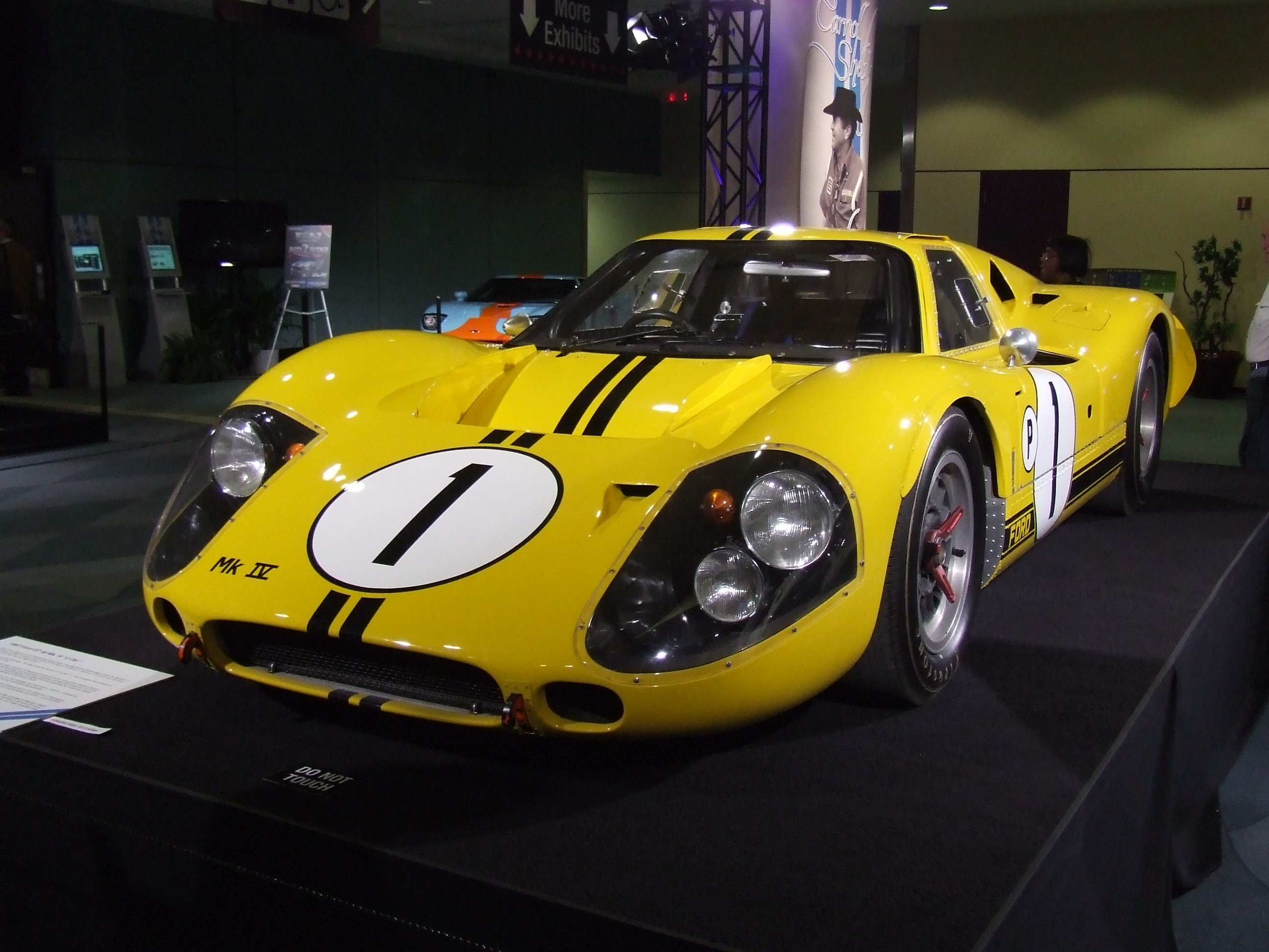 Ford GT40 Mk IV group 6 (1967) - Racing Cars