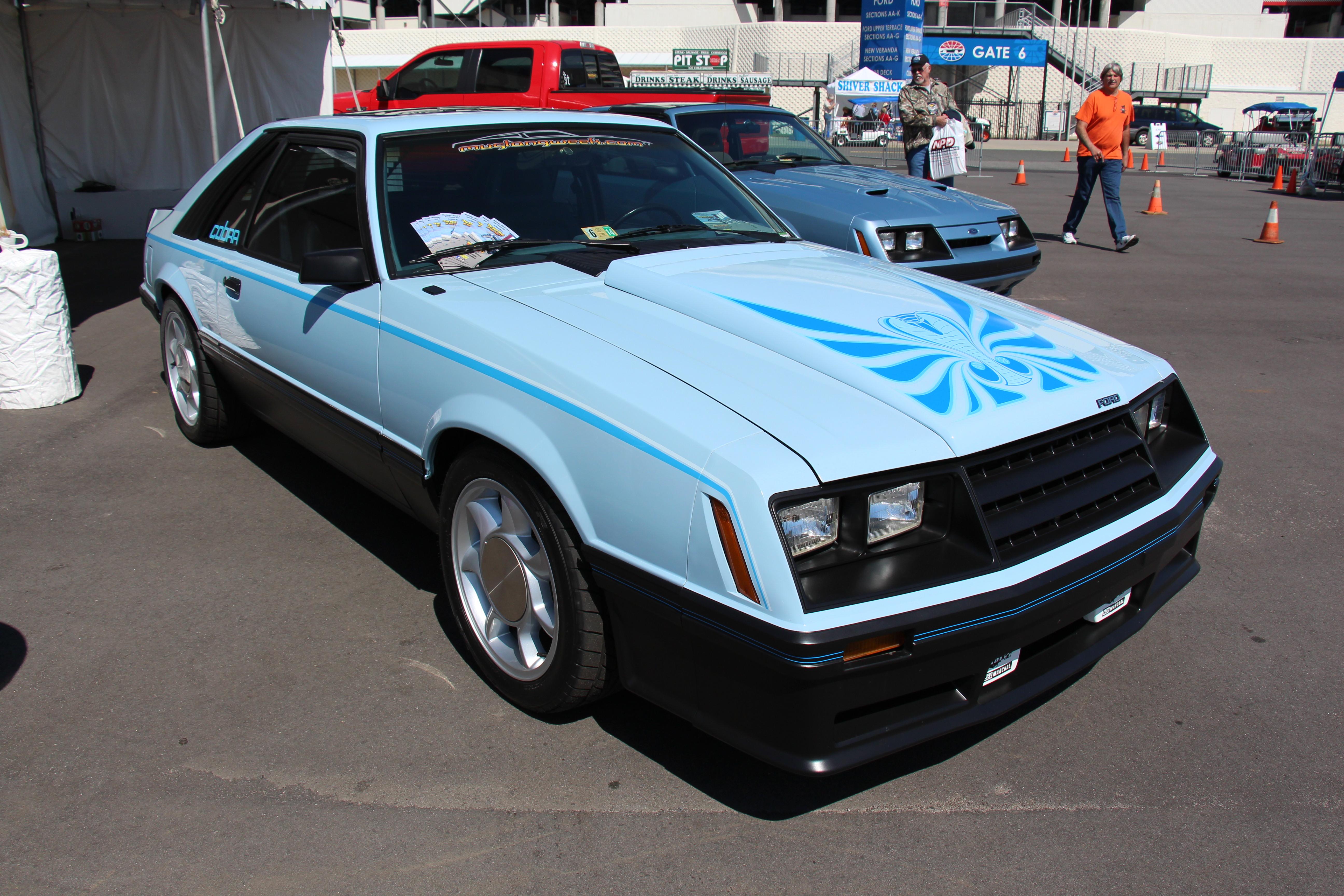 2015 Mustang Cobra >> File 1981 Ford Mustang Cobra Hatchback 14203296488 Jpg