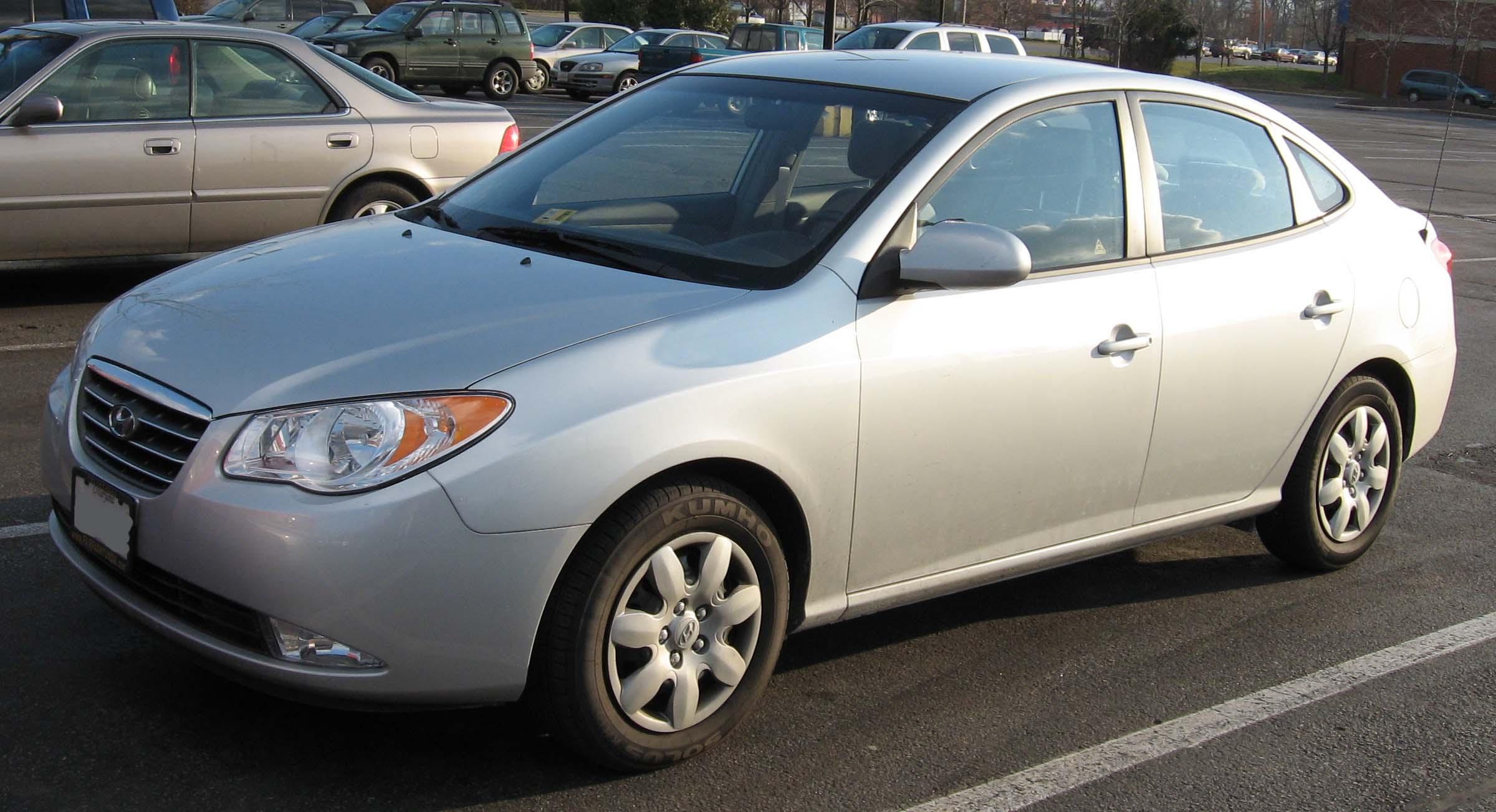 File:2007-Hyundai-Elantra.jpg - Wikimedia Commons