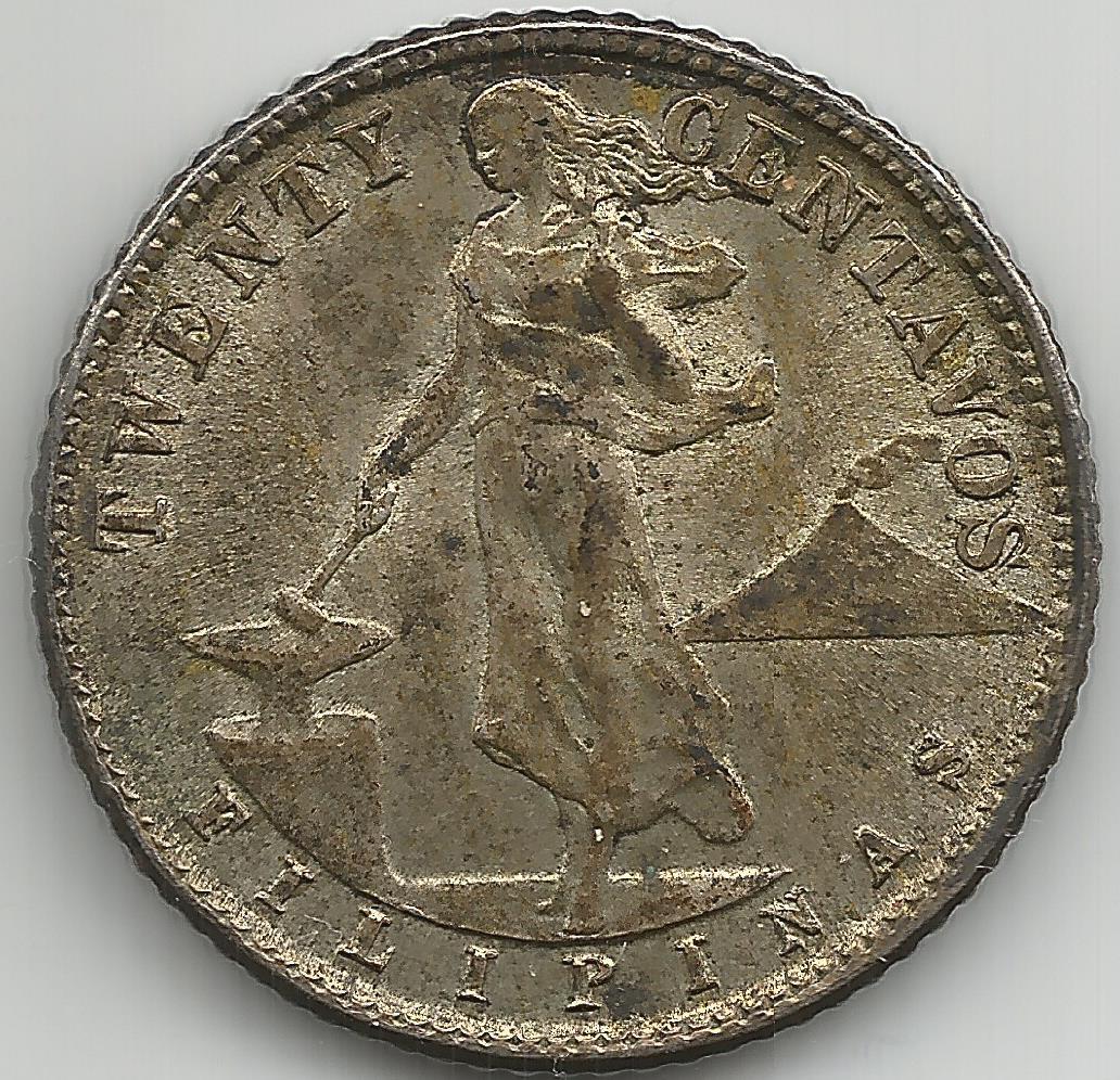 1944 centavos coin