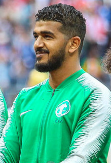 Abdullah with Saudi Arabia at the 2018 FIFA World Cup