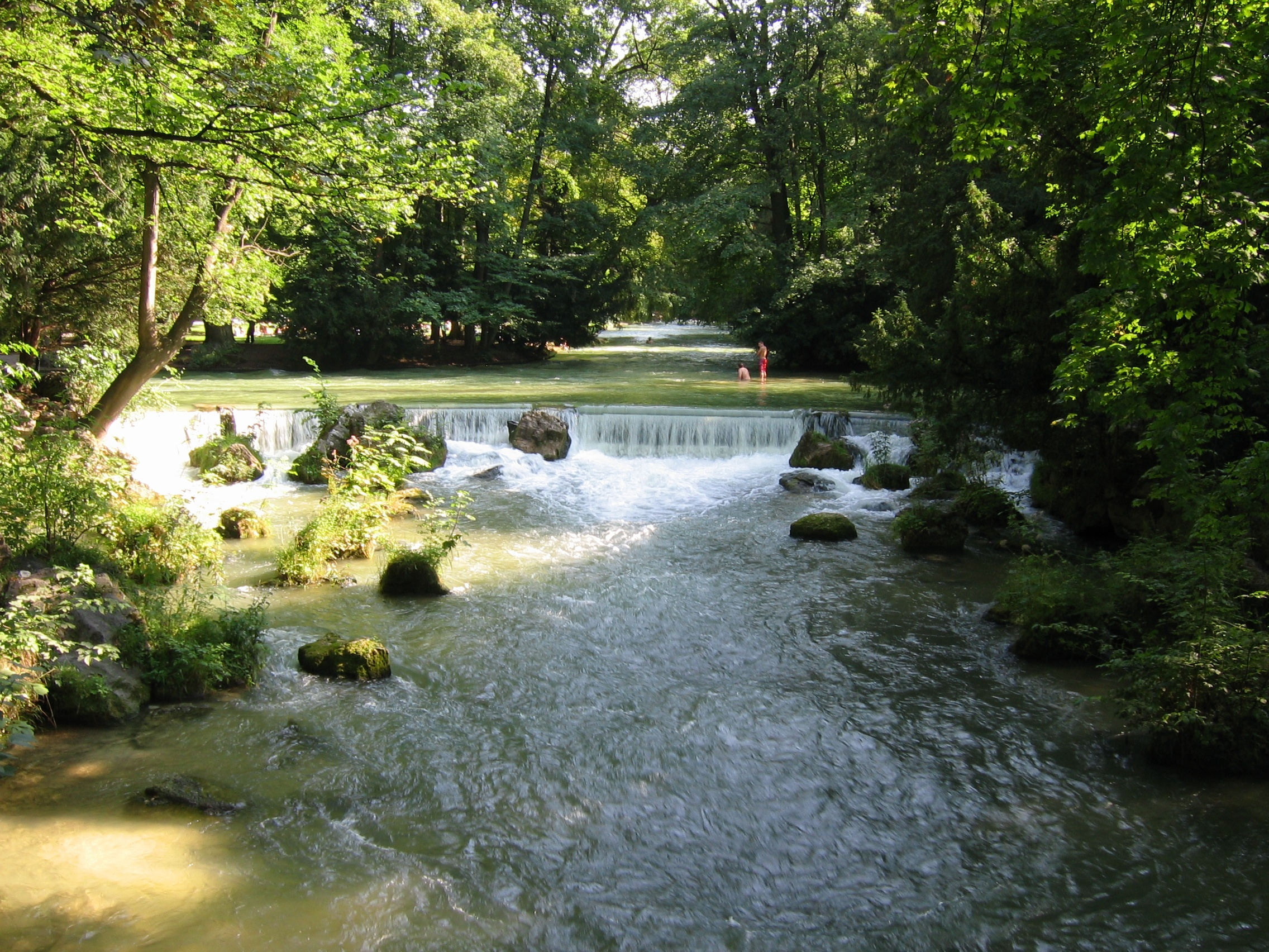 Eisbach isar wikiwand for Jardin ingles