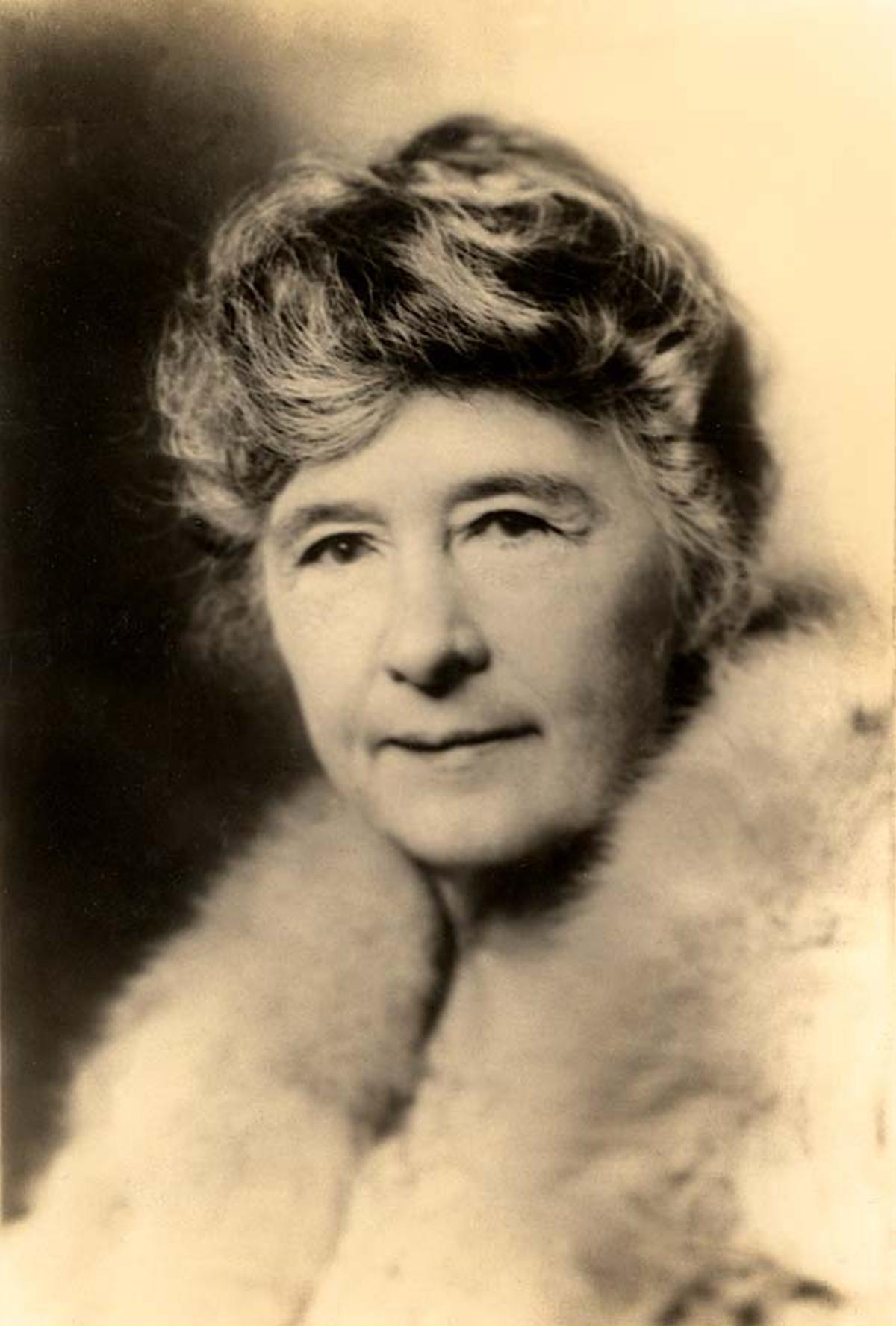 Adina De Zavala, c. 1910