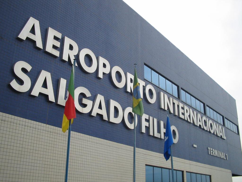 Aeroporto Internacional Salgado Filho Porto Alegre Rs Brasil : Aeroporto internacional de porto alegre wikipédia a