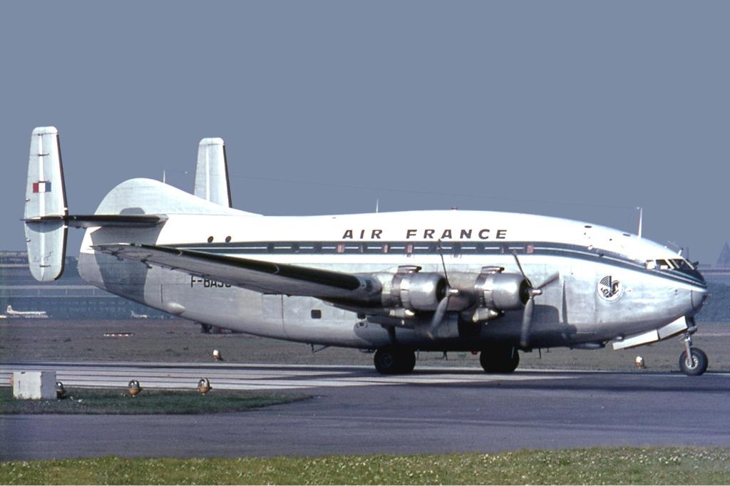 Provence d'Air France à l'aéroport de Tempelhof en 1965
