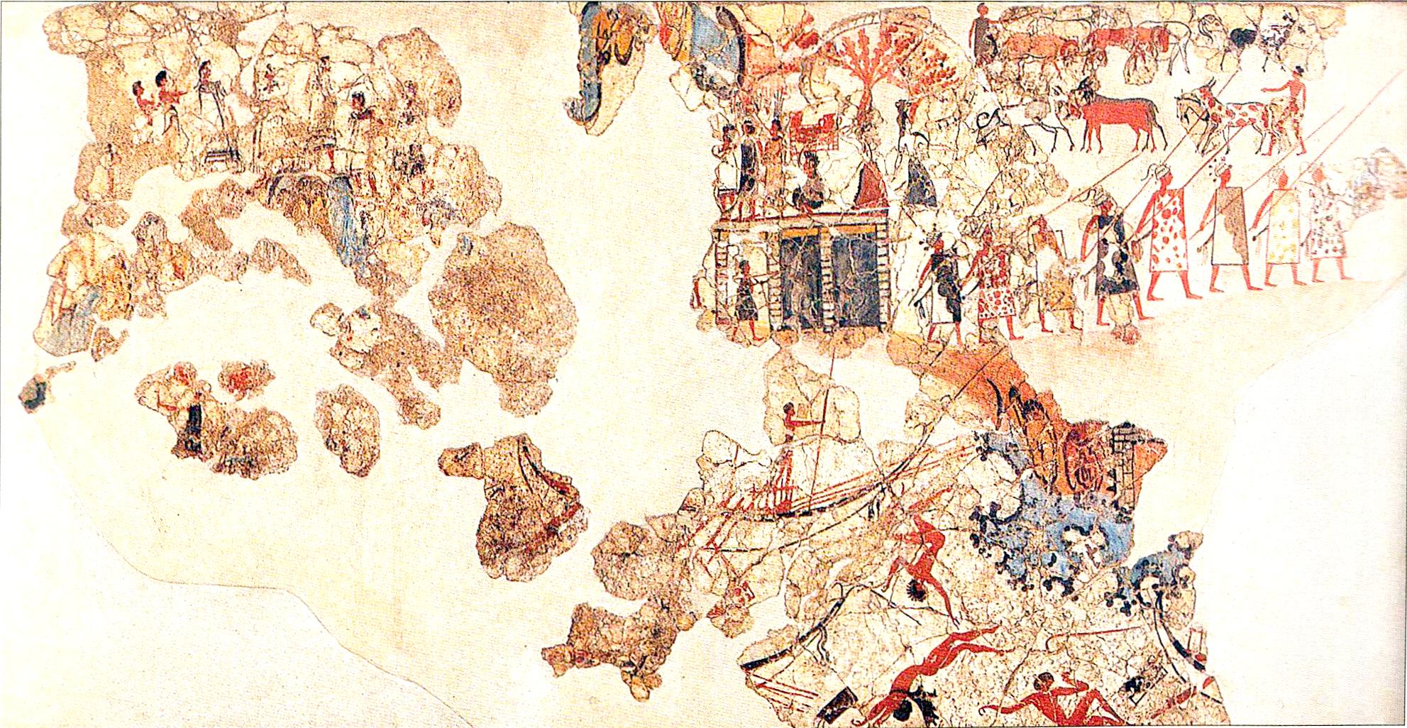 httpsuploadwikimediaorgwikipediacommonsdd0Akrotiri_fresco_shipwreckpng