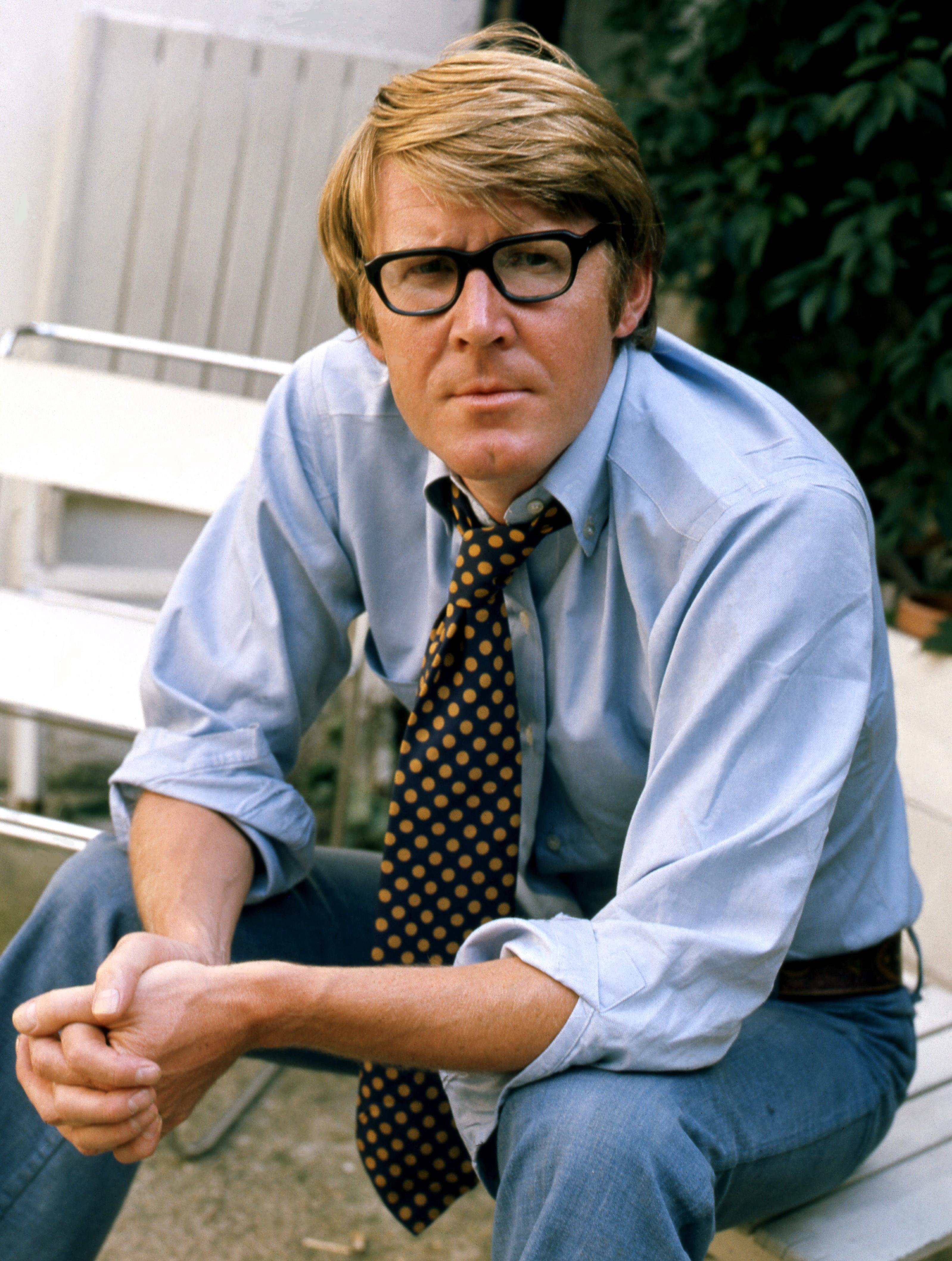 Portrait of Alan Bennett