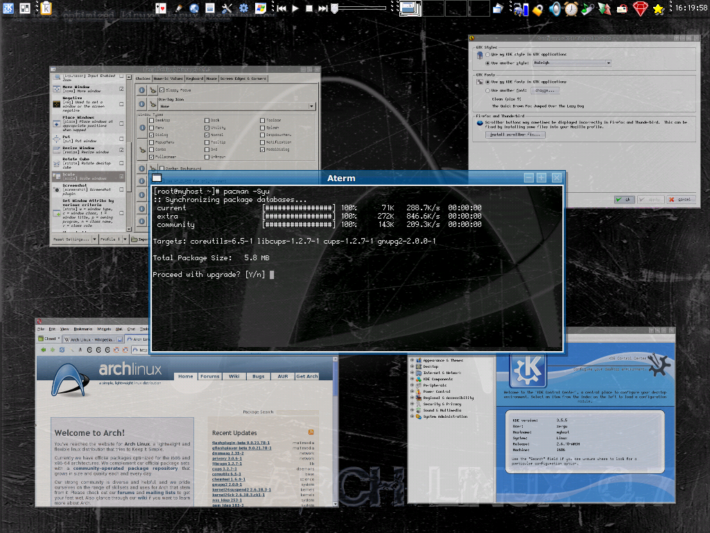 Arch Linux – Wikiped...W Logo Images