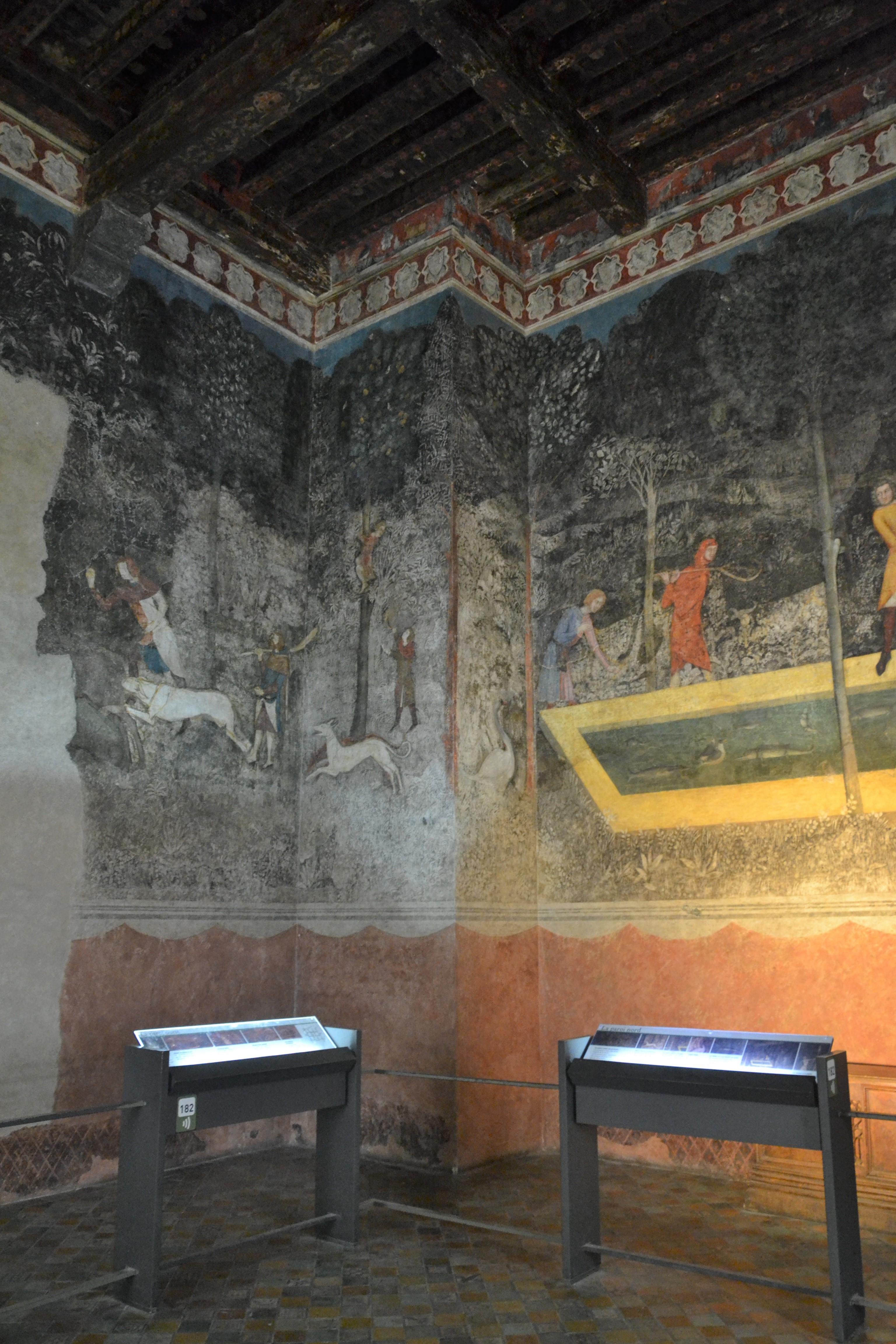File avignon palais des papes chambre du cerf wikimedia commons - Chambre de commerce d avignon ...