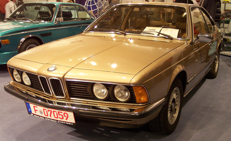BMW E24 – Wikipedia