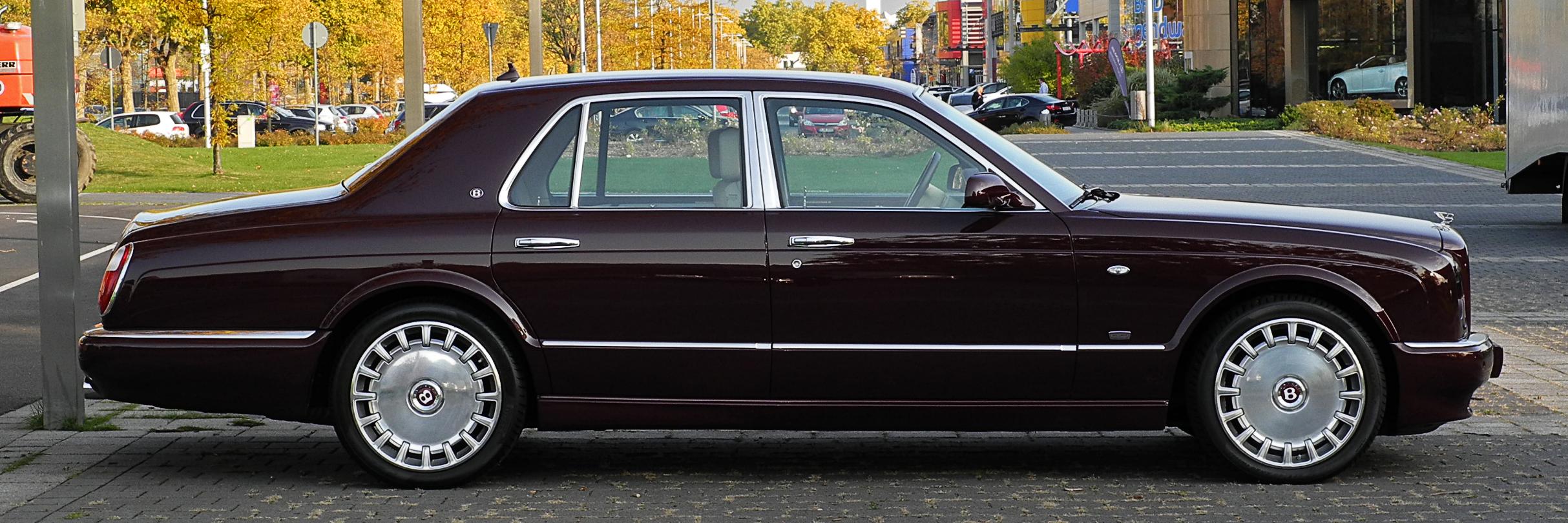 File:Bentley Arnage R Mulliner (Facelift) – Seitenansicht, 28. Oktober 2011, Düsseldorf.jpg ...