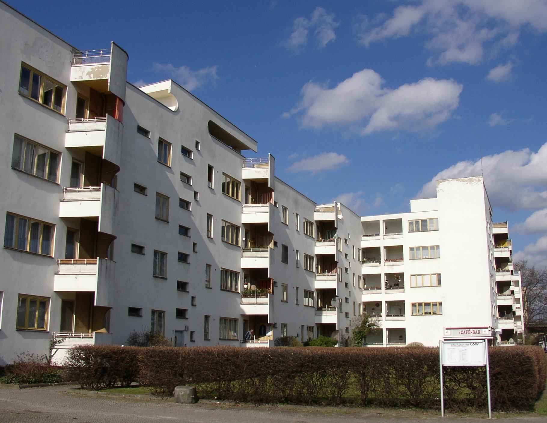 Gro siedlung siemensstadt wikipedia for Architektur 1929