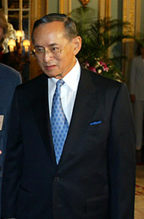 Portrait of King Bhumibol