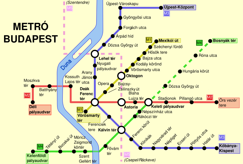 Budapest Subway Map English.File Budapest Metro Map Png Wikimedia Commons