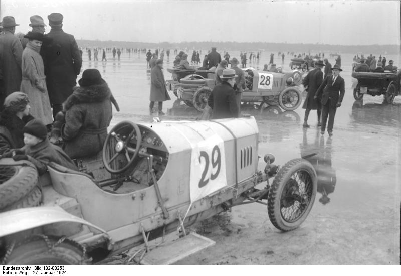 Bilkapplöpning på 20-talet