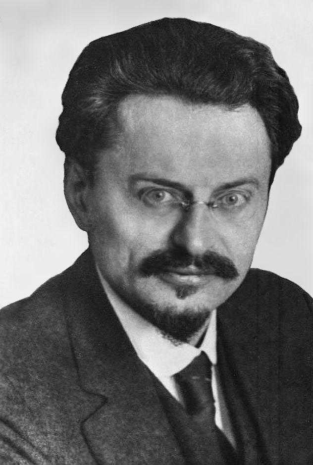 Photograph of Trotsky in 1929