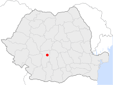 Location of Călimănești