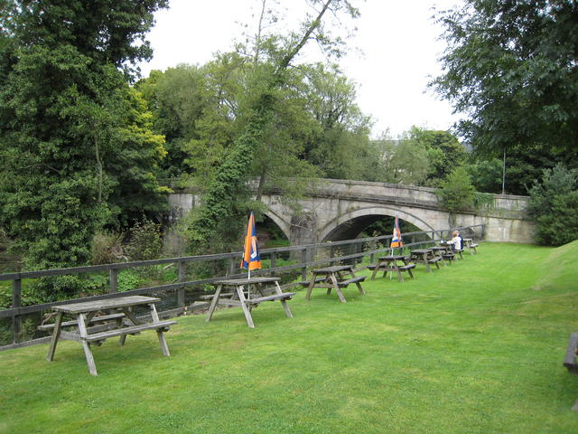 Calver bridge - geograph.org.uk - 555578