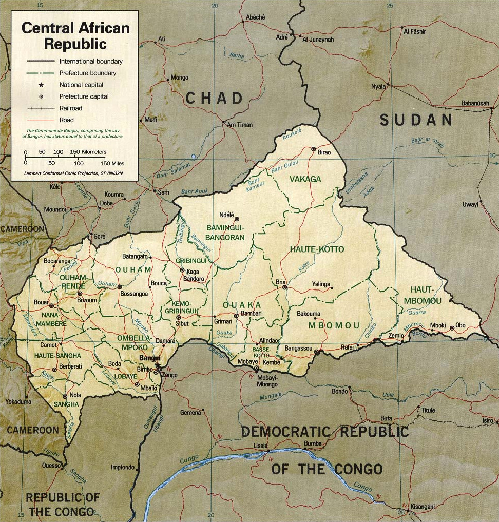 central african republic In 2016, the central african republic made a moderate advancement in efforts to  eliminate the worst forms of child labor the national assembly ratified the un.