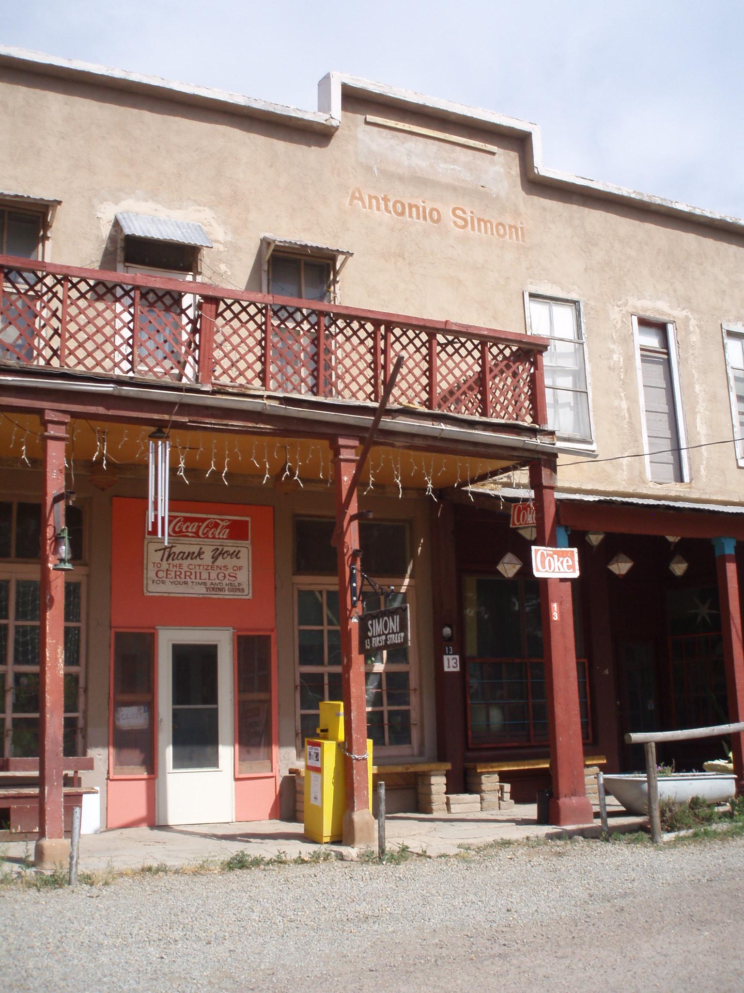 Sante Fe New Mexico >> Los Cerrillos, New Mexico - Wikipedia