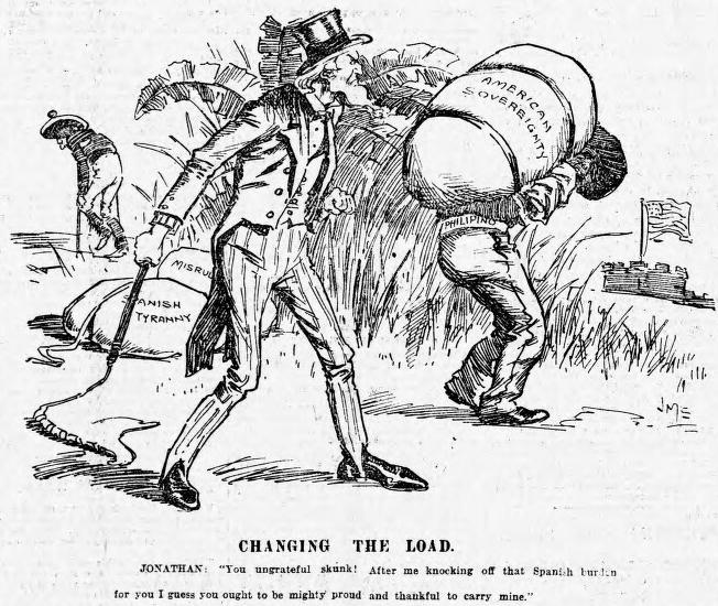 Political Cartoon, 1899
