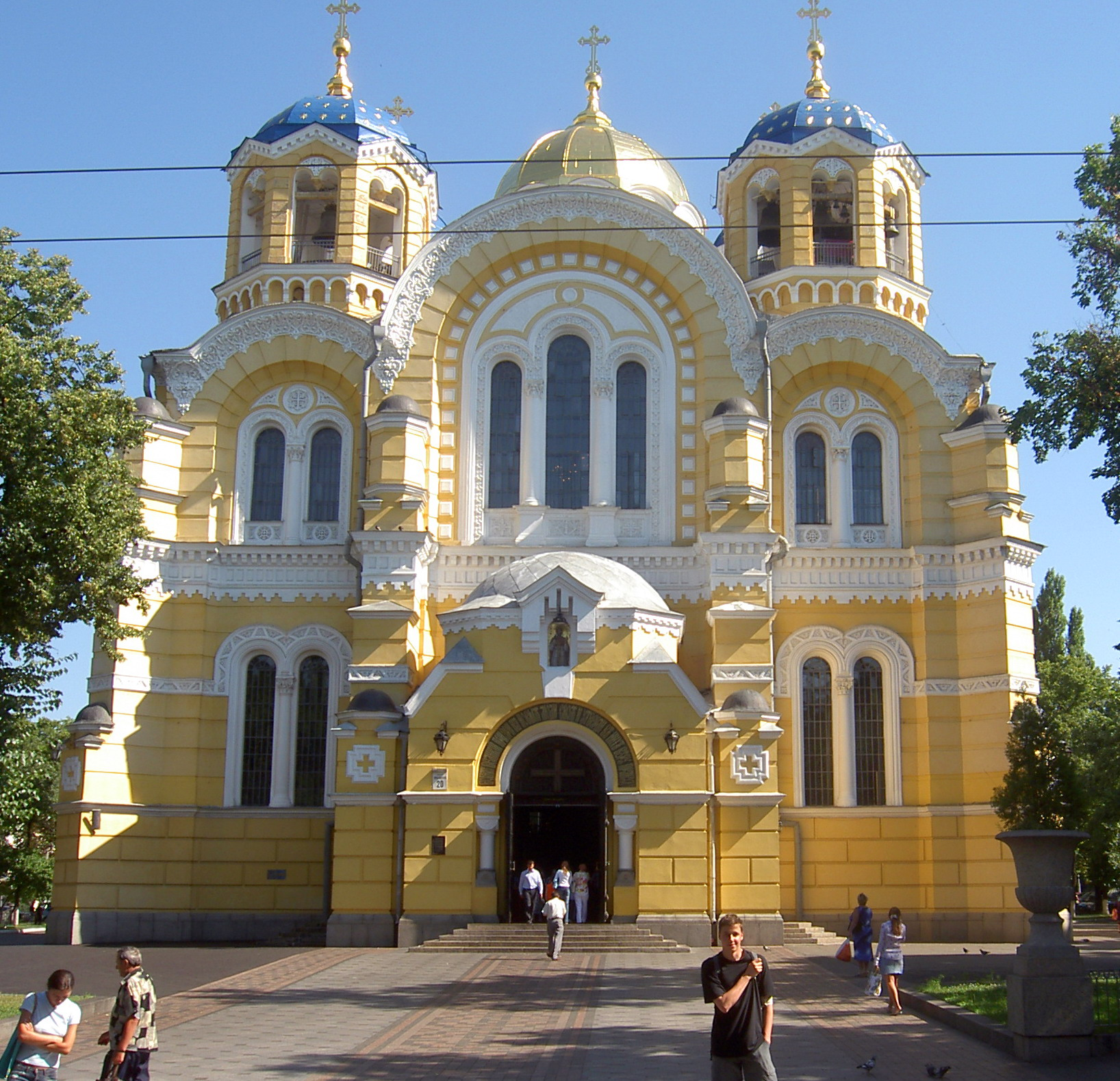 Byzantine revival architecture in russia for Architecture byzantine