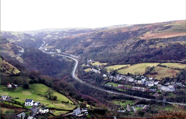Clydach Gorge - geograph.org.uk - 297781