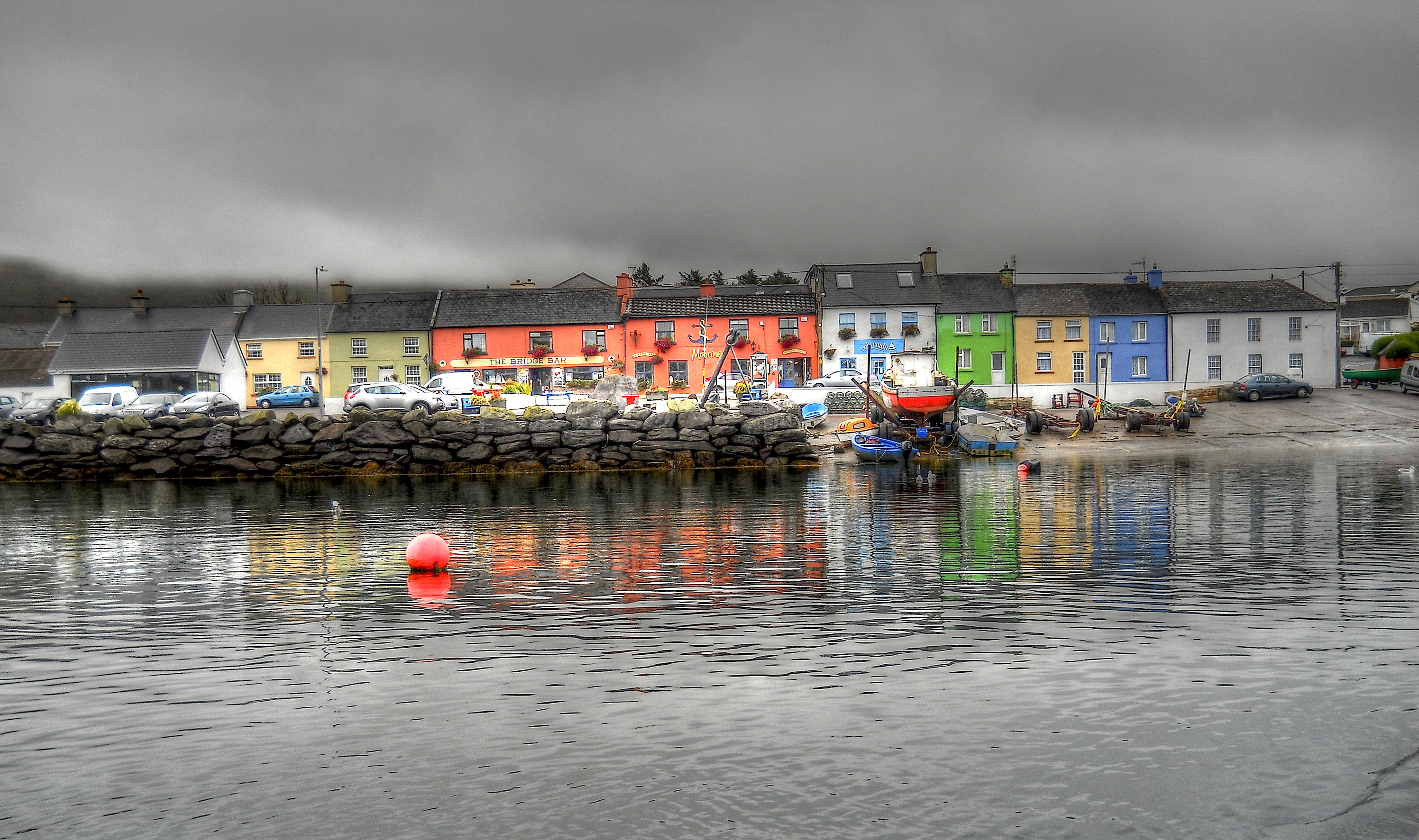 the colorful harbor in - photo #47