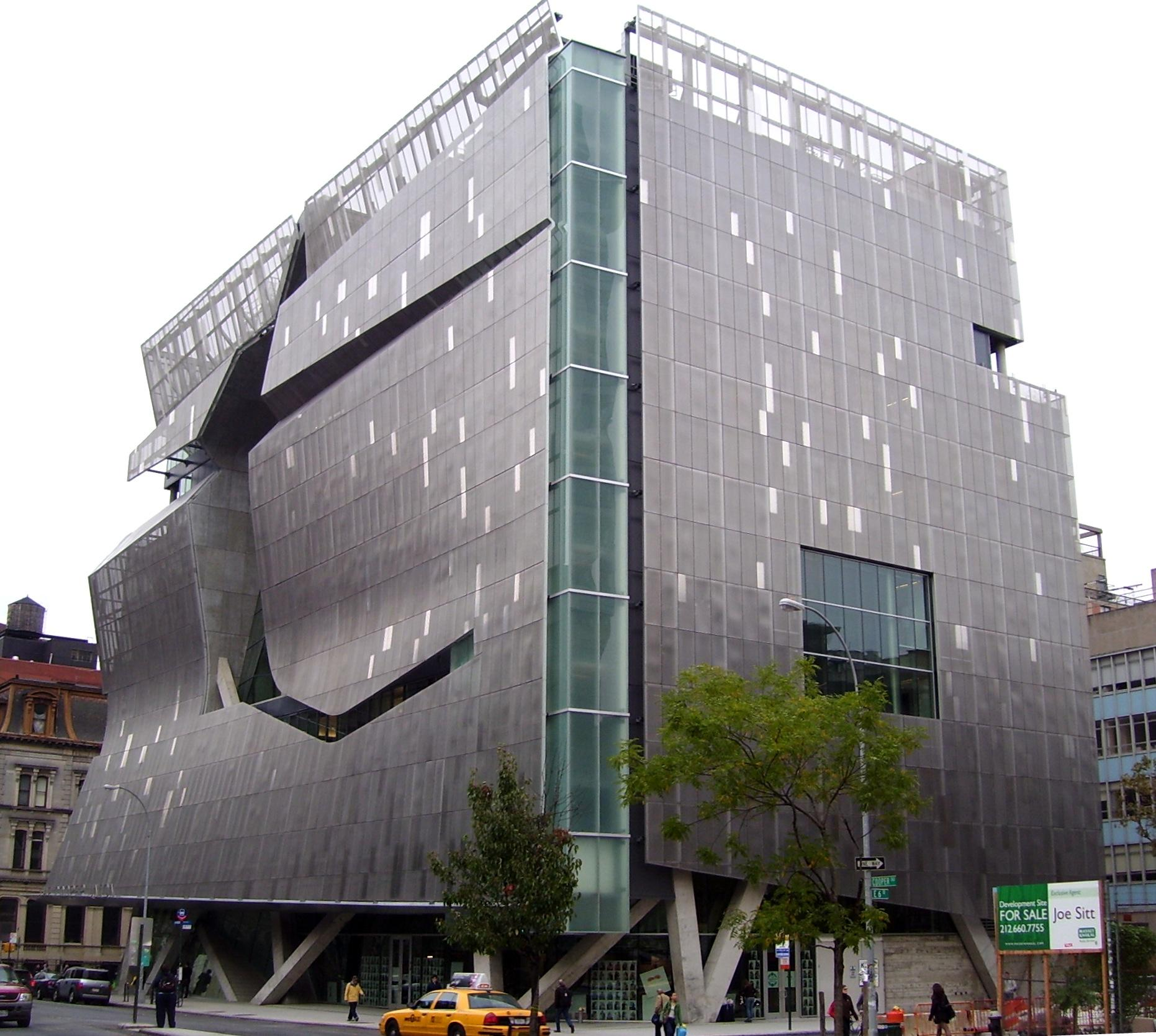 File:Cooper Union New Academic Bldg From South