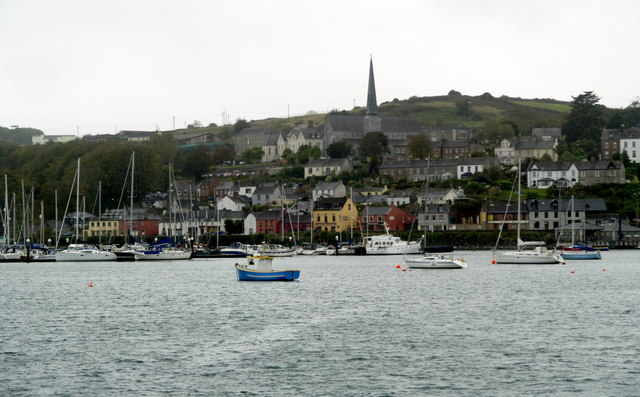 File:Crosshaven from Curraghbinny - geograph.org.uk - 596566.jpg