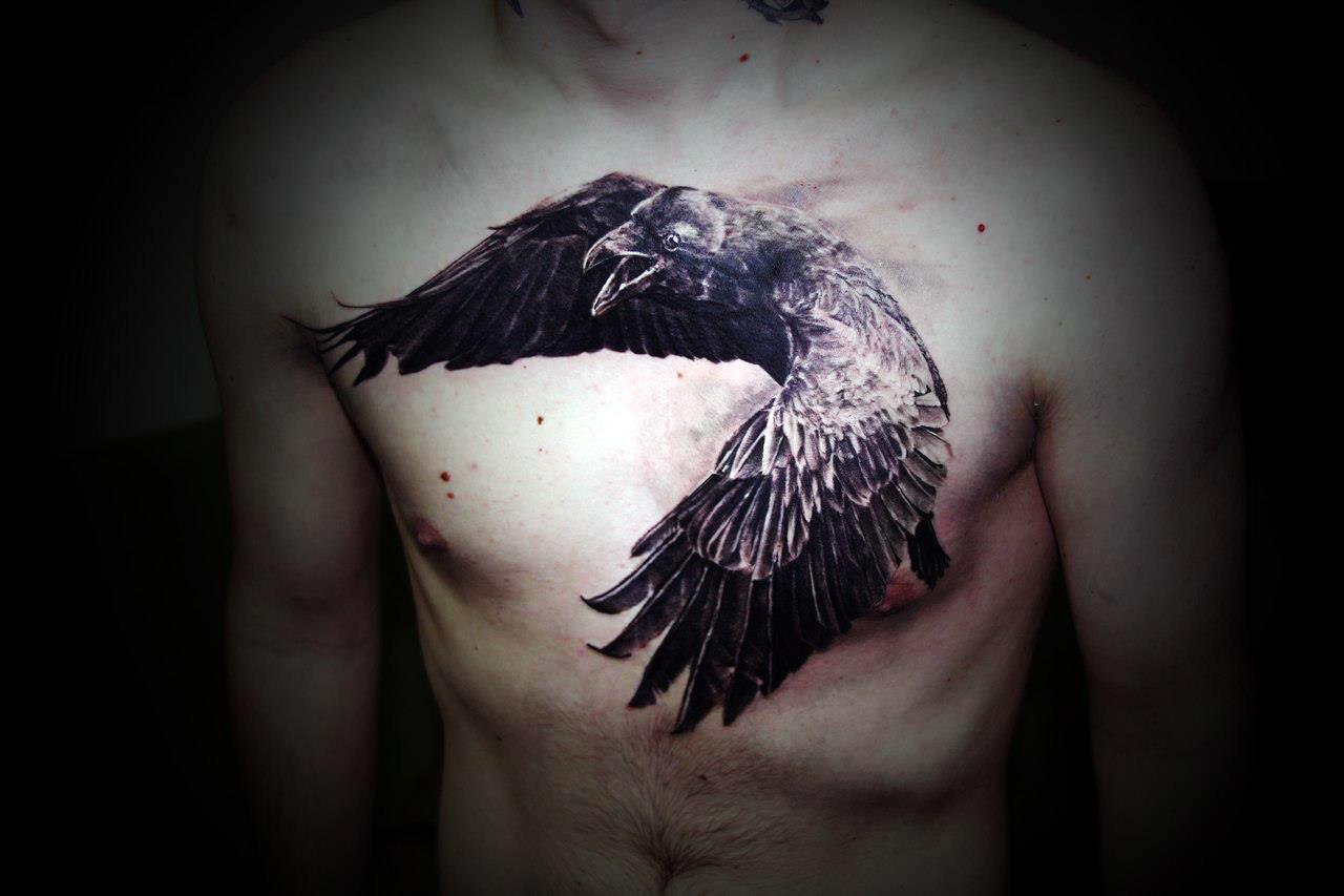 crow tattoo 53