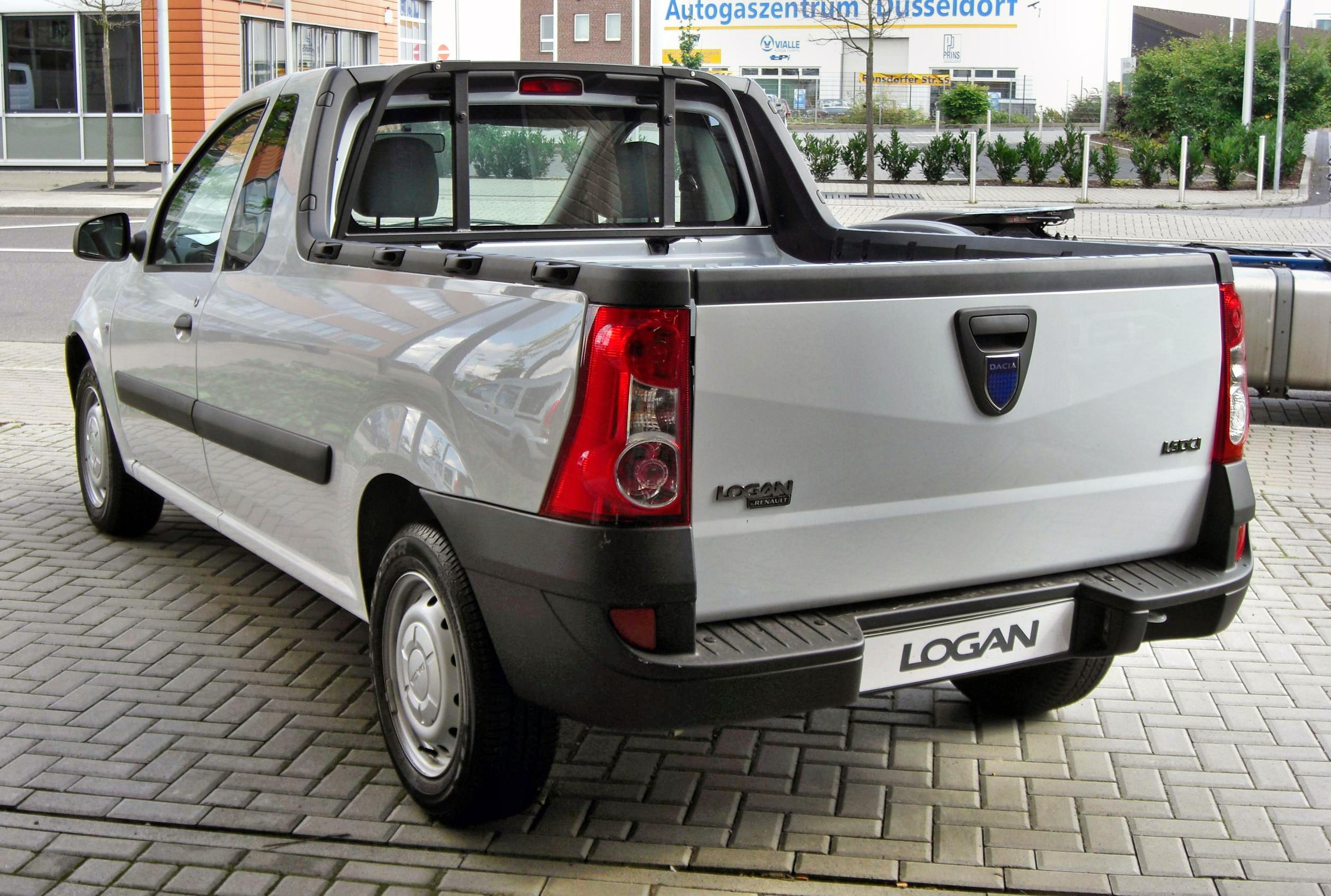 file dacia logan pick up 20090712 rear jpg wikimedia commons. Black Bedroom Furniture Sets. Home Design Ideas