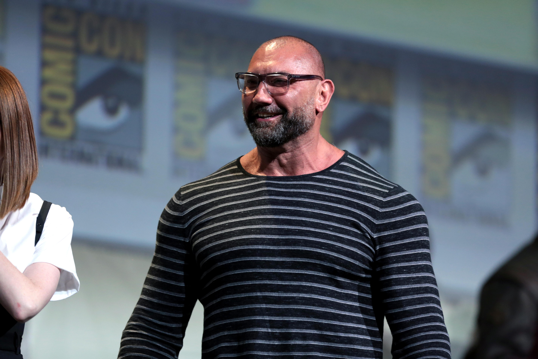 Dave Bautista in Comic Con