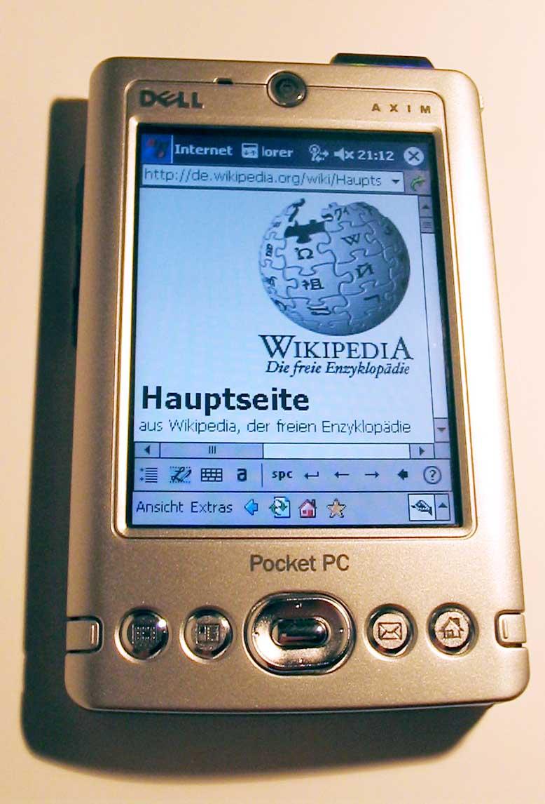 dell axim vikipedi rh tr wikipedia org Dell PDA Axim X3 Dell Axim X3 Ballistic Software
