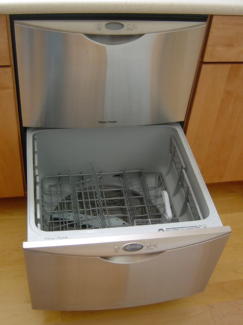 A Fisher Paykel Dishdrawer Model