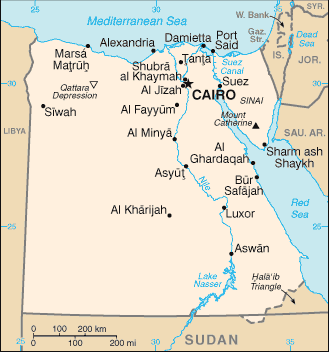 Natural Resources Available In Egypt