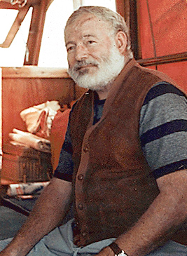 Ernest Hemingway 1950 w