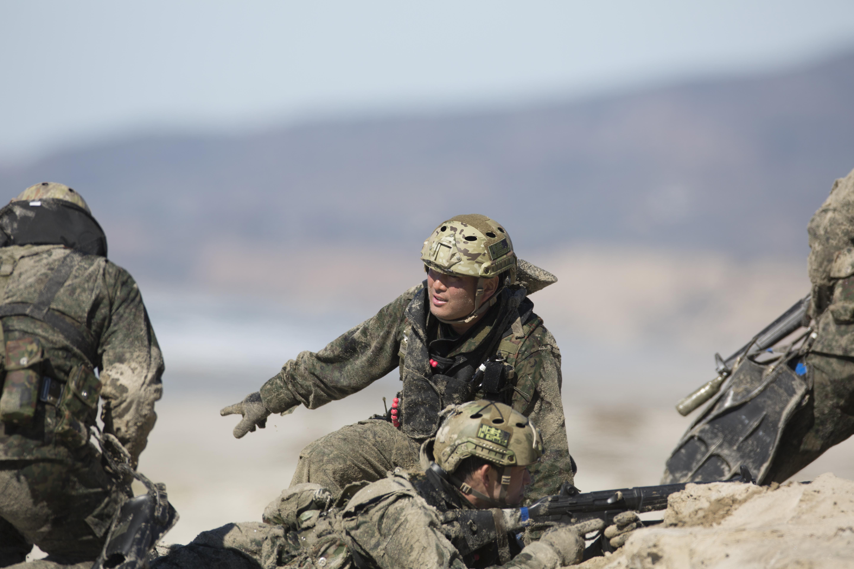 File:Exercise Iron Fist 2016, JGSDF Conducts Beach Raid ...