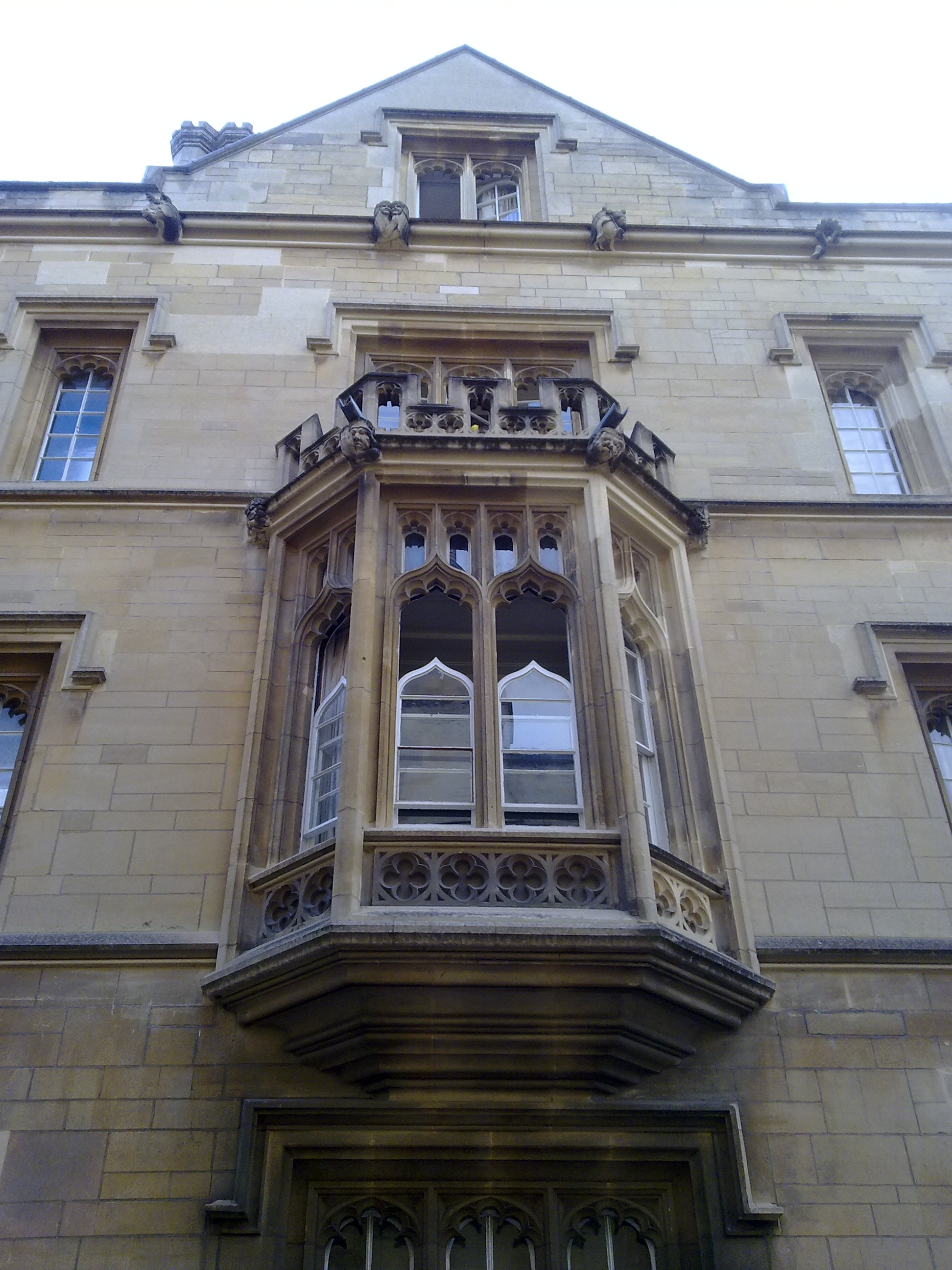 Exeter College Bay Window In