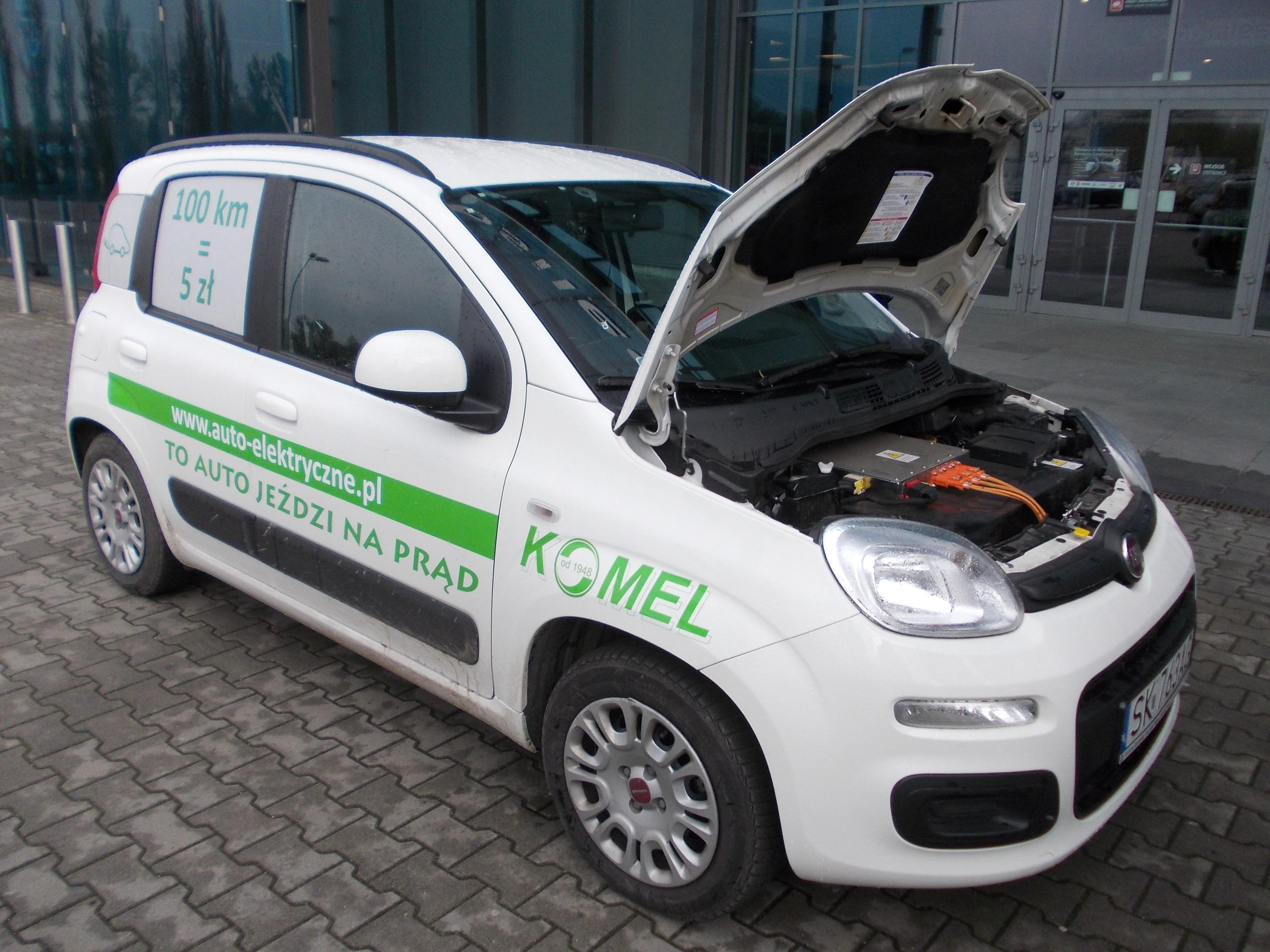 Fantastyczny File:Fiat Panda Komel elektryczny SilesiaKomunikacja14.jpg PP11
