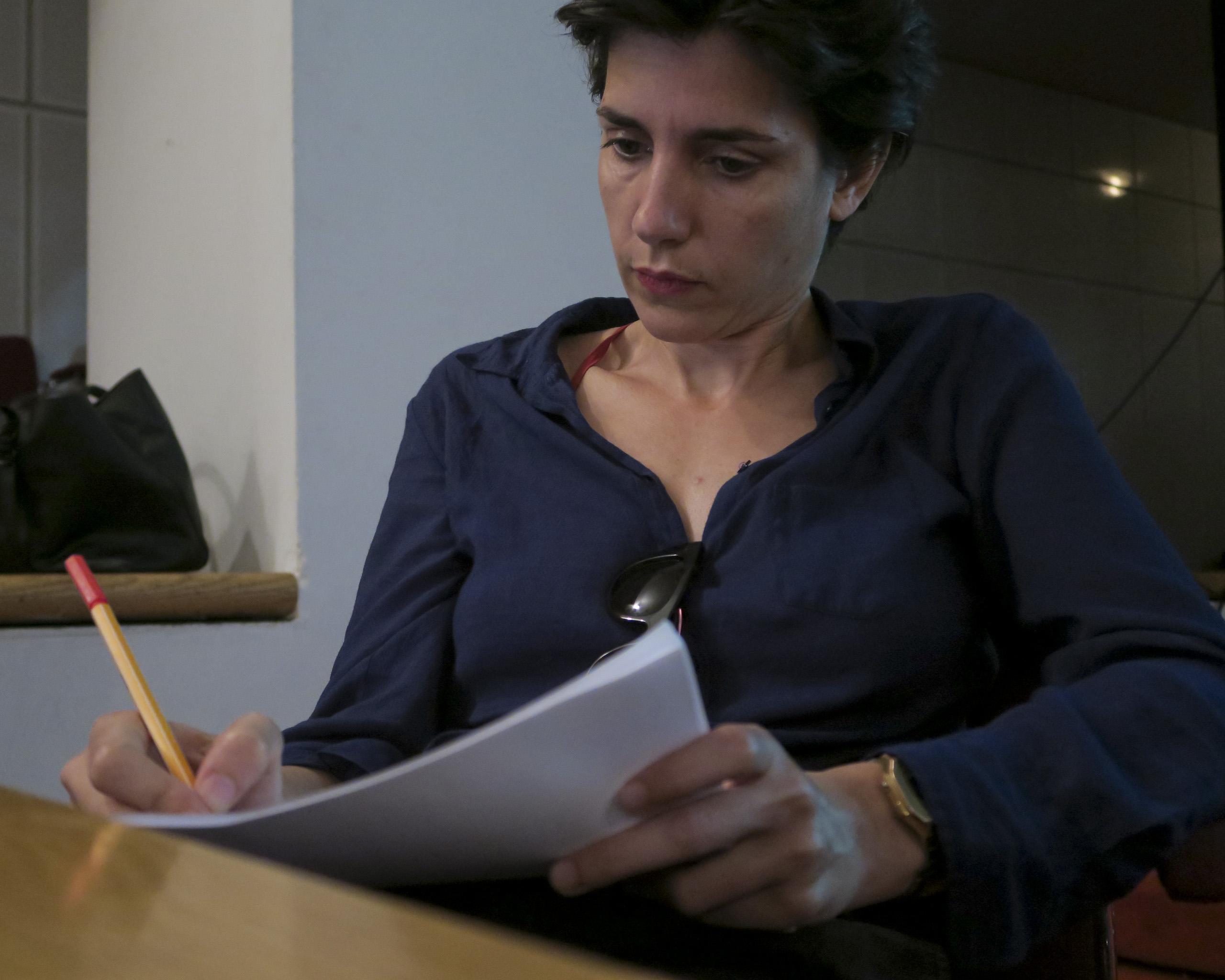 Image of Filipa César from Wikidata