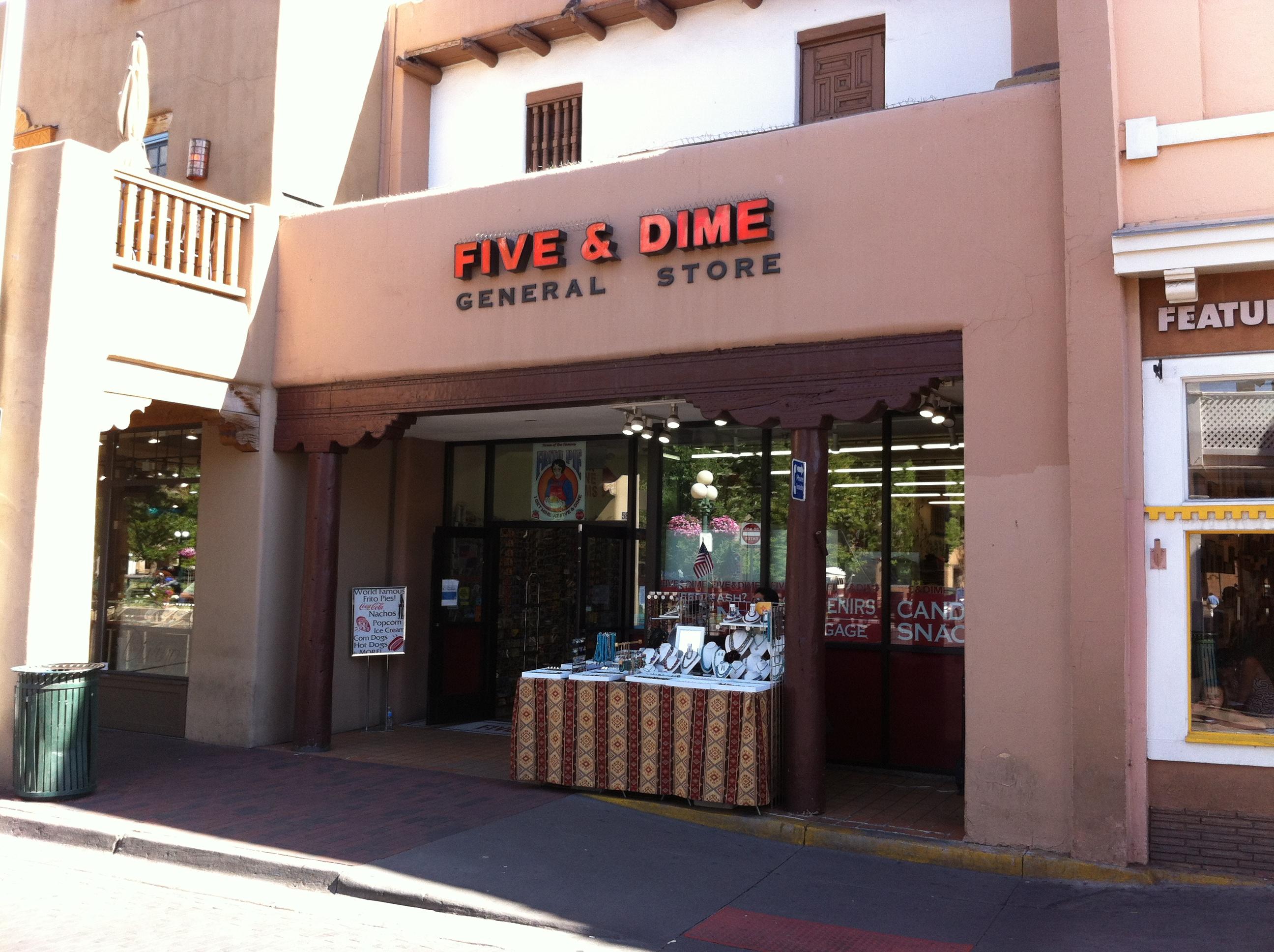 Filefive Dime General Store Santa Fe New Mexico 001
