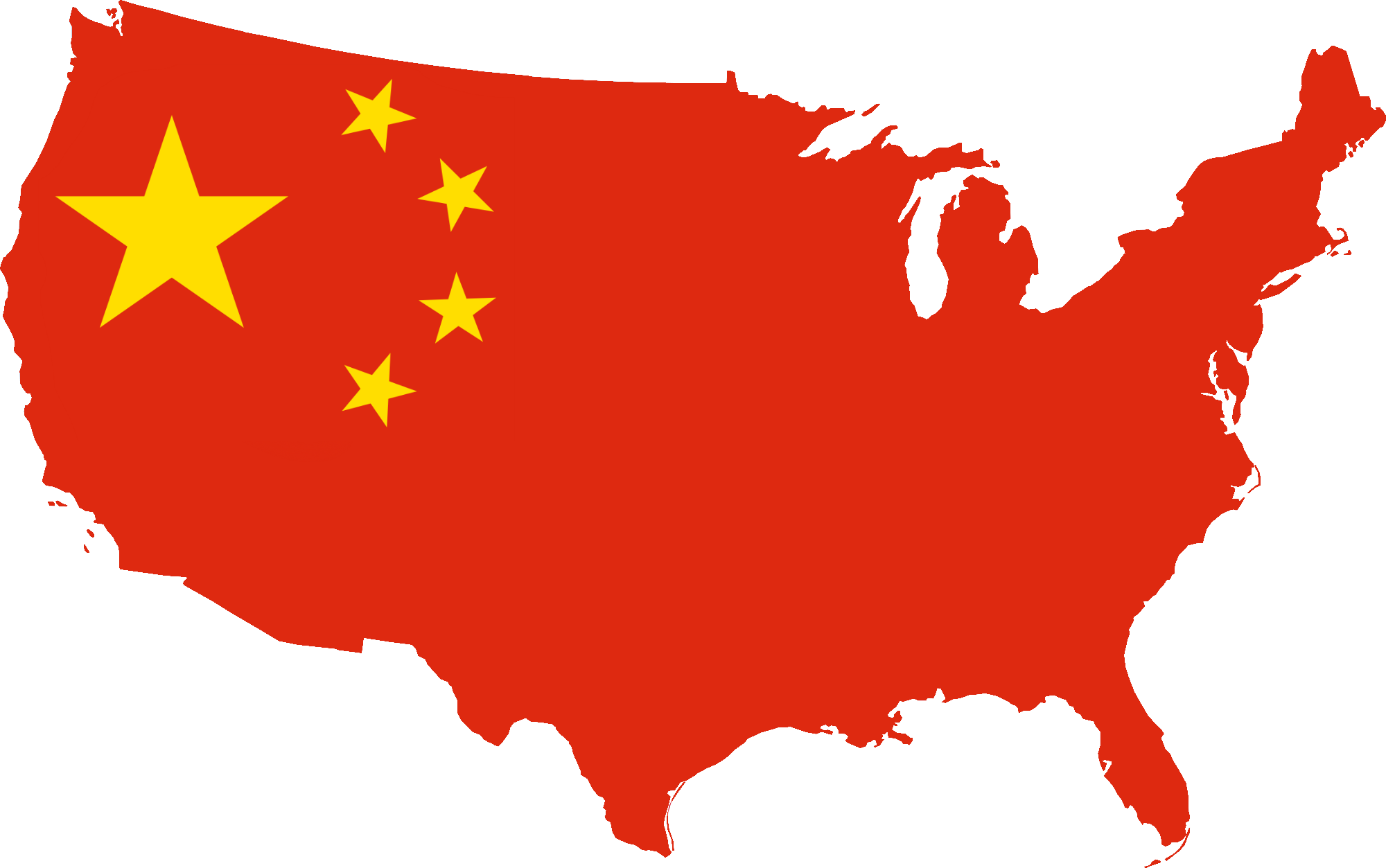 FileFlag Map Of USA Chinapng Wikimedia Commons - Us china map