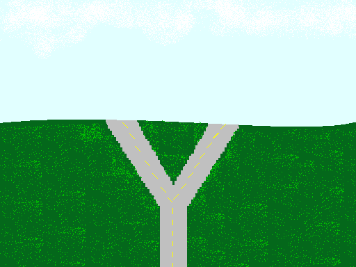 Fork in the road sign png file fork in the road png