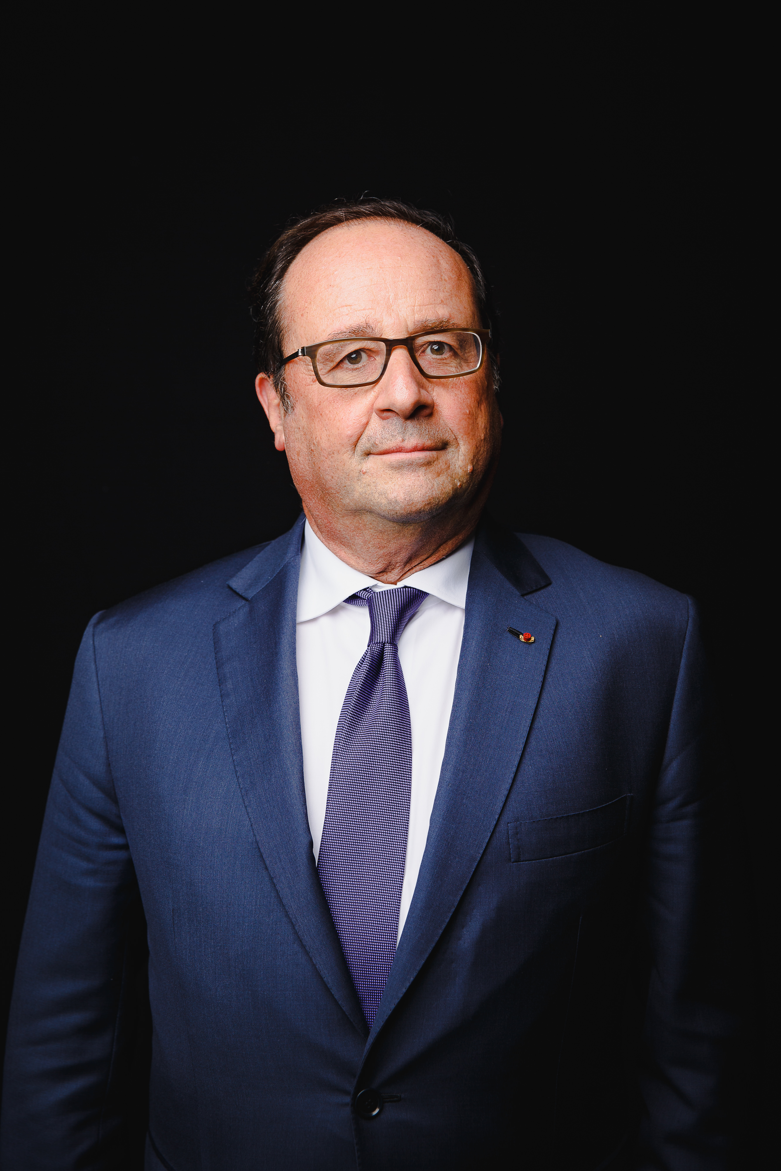 The 6-year old son of father Georges Gustave Hollande and mother Nicole Frédérique Marguerite Tribert François Hollande in 2018 photo. François Hollande earned a  million dollar salary - leaving the net worth at 2 million in 2018