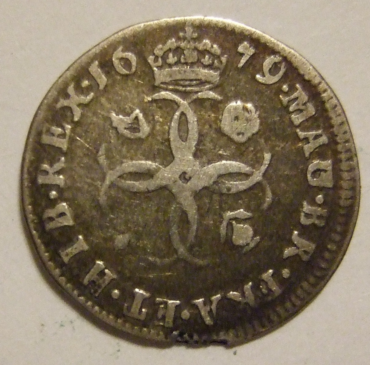 File:GREAT BRITAIN, CHARLES II 1679 -MAUNDY FOURPENCE a - Flickr -  woody1778a