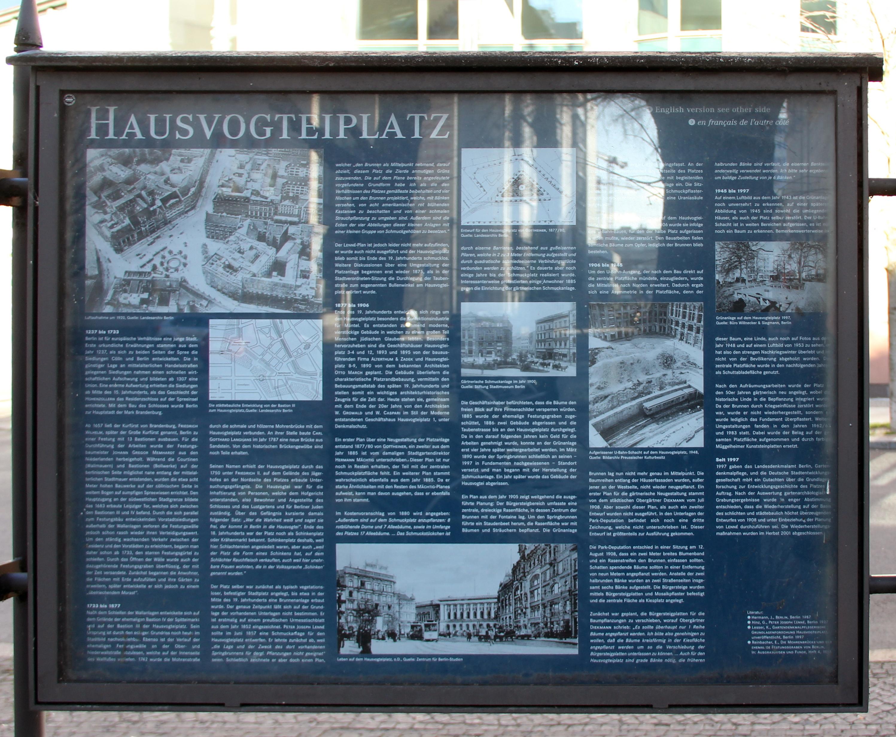 719b3ec6ac7fc2 File Gedenktafel Hausvogteiplatz (Mitte) Hausvogteiplatz.jpg ...