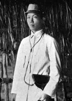 Emilio Aguinaldo in the field