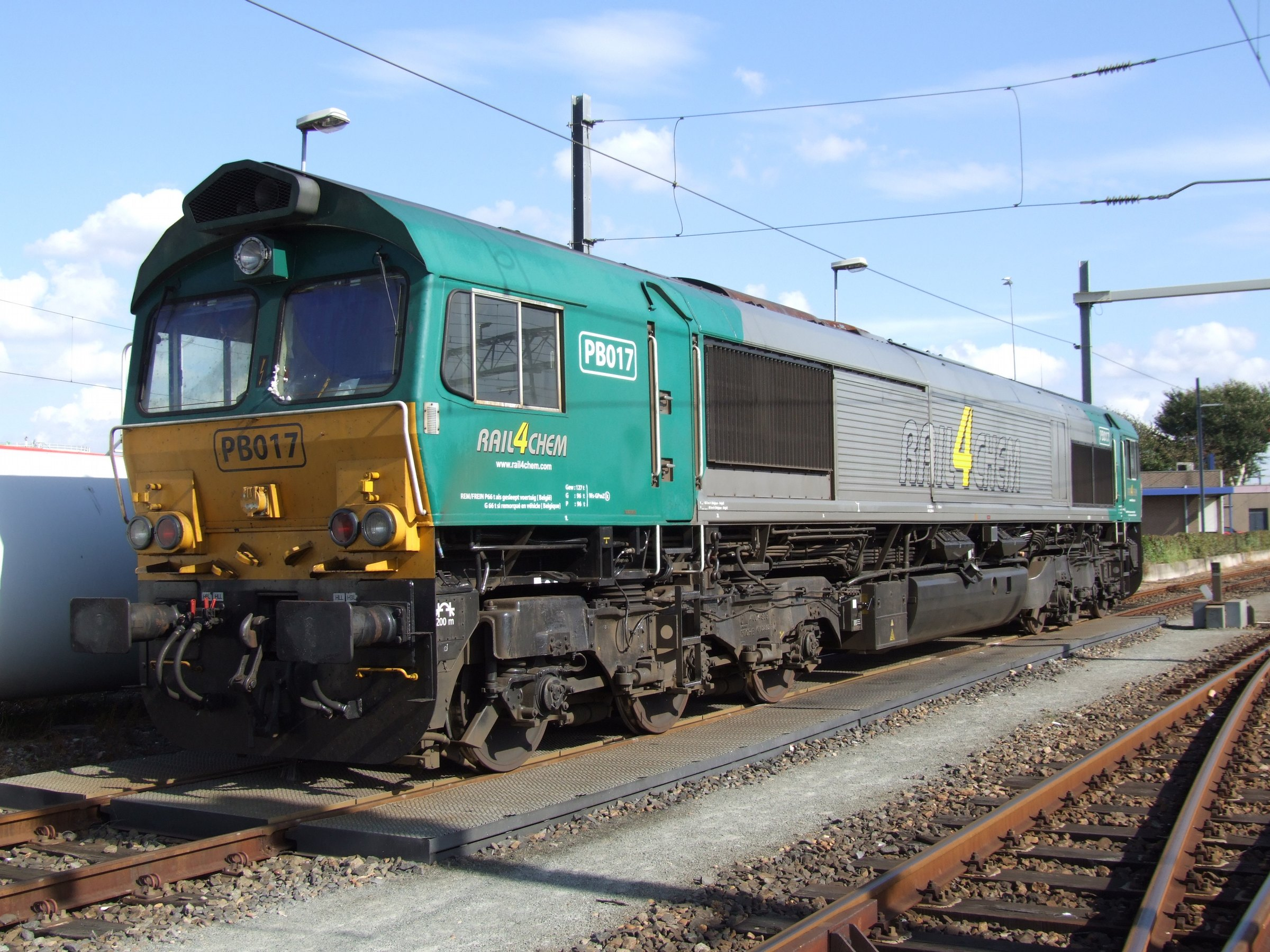 Electro Motive Diesel >> File General Motors Electro Motive Diesel Class 66 Pb017 Jpg
